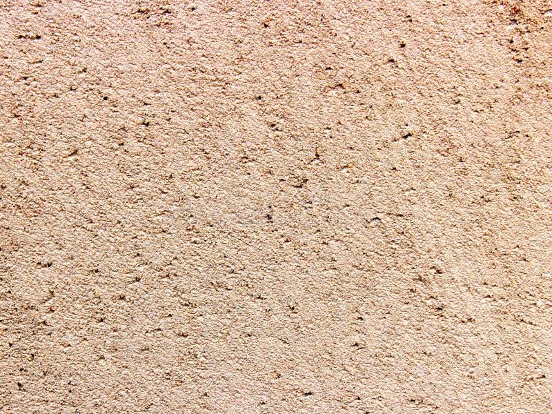Donnez au ciment une consistance rugueuse de sable de fond photographie stock libre de droits