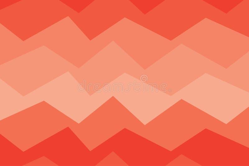 Donnez au rouge une consistance rugueuse orange de fond d'abrégé sur bannière de lumière de gradation illustration libre de droits
