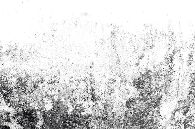 Donnez au style une consistance rugueuse grunge abstrait noir et blanc Texture d'abrégé sur cru de la vieille surface Modèle et t illustration stock