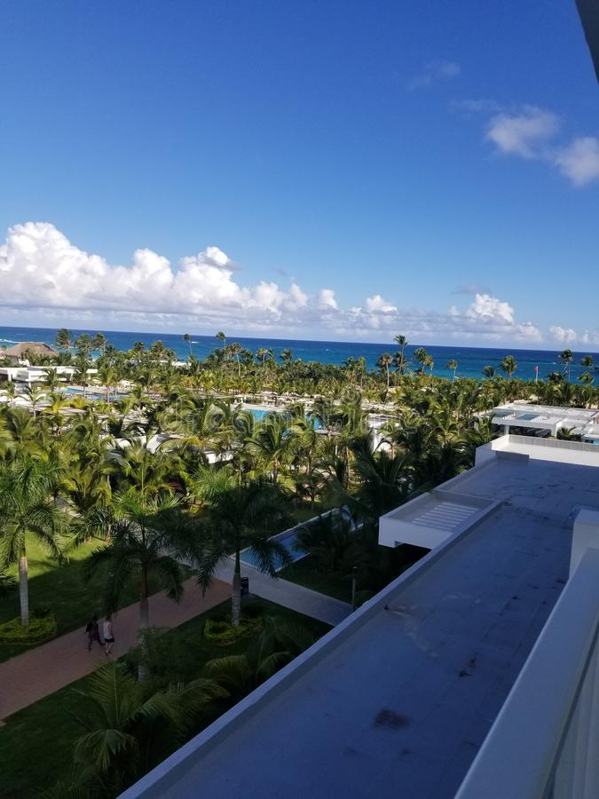 Donnez sur de Punta Cana photographie stock libre de droits
