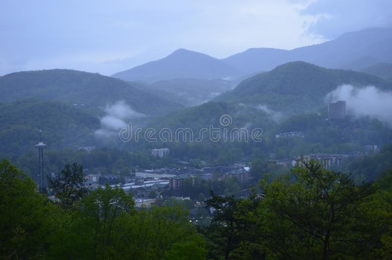 Donnez sur Gatlinburg Tennessee photos stock