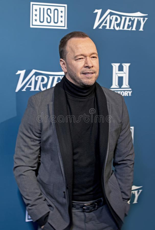 Donnie Wahlberg at the 3rd Annual Salute to Service stock photo