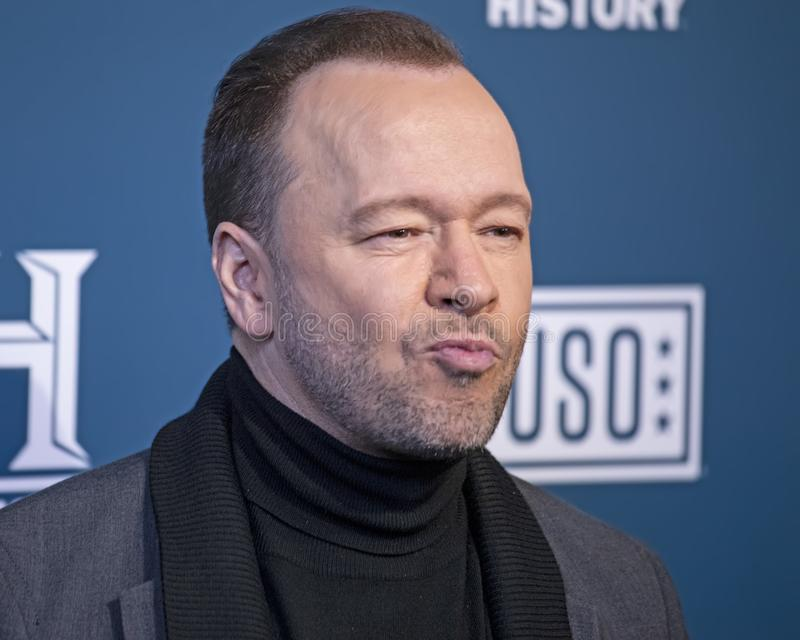 Donnie Wahlberg at the 3rd Annual Salute to Service stock image