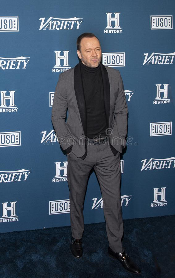 Donnie Wahlberg at the Variety 3rd Annual Salute to Service stock images
