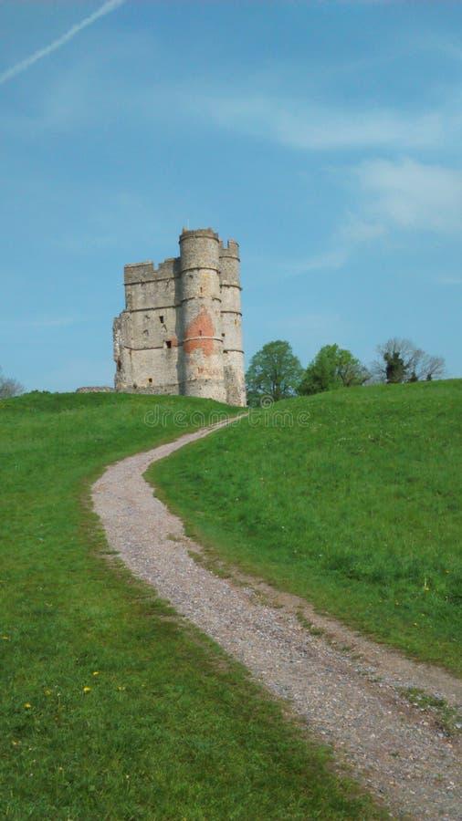 Donnington castle stock photos
