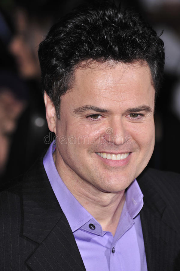 Donny Osmond fotografie stock