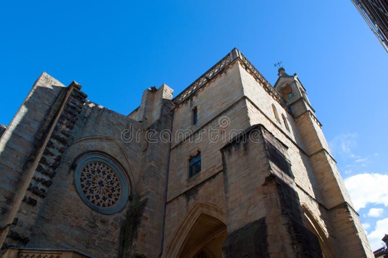 Donostia, San Sebastián, el Golfo de Biscaya, país vasco, España, Europa fotografía de archivo