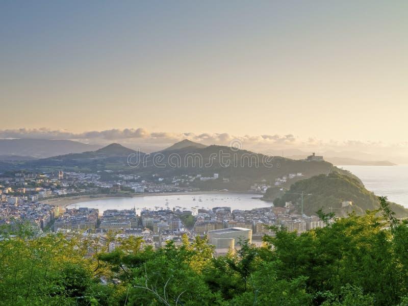 Donostia - San Sebastian 免版税库存照片
