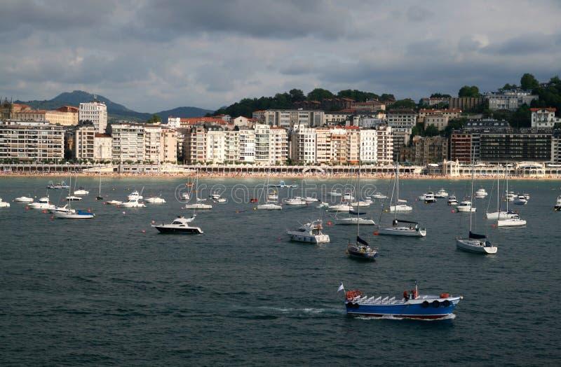 donostia San Sebastian Espagne images stock