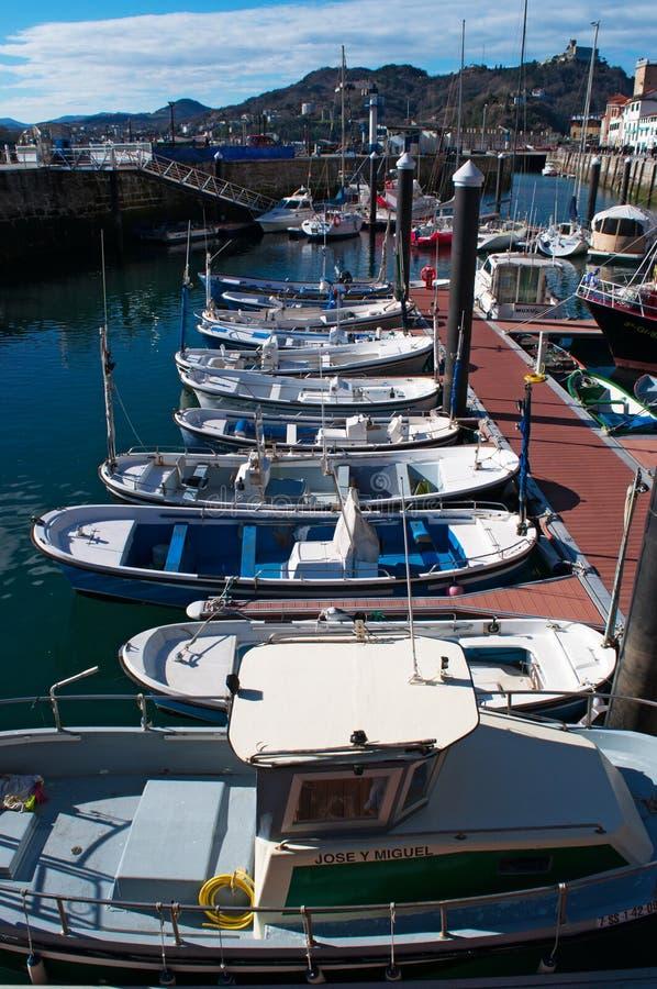 Donostia, San Sebastian, Golfo da Biscaia, país Basque, Espanha, Europa fotos de stock royalty free