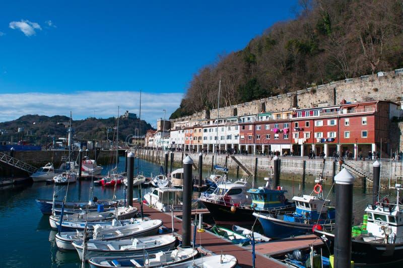 Donostia, San Sebastian, Golfo da Biscaia, país Basque, Espanha, Europa foto de stock