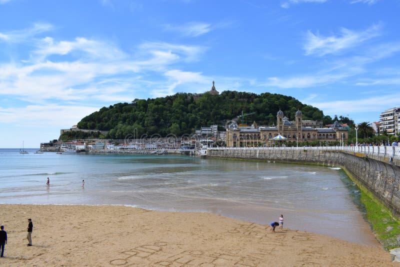 Donostia - San Sebastian stock image