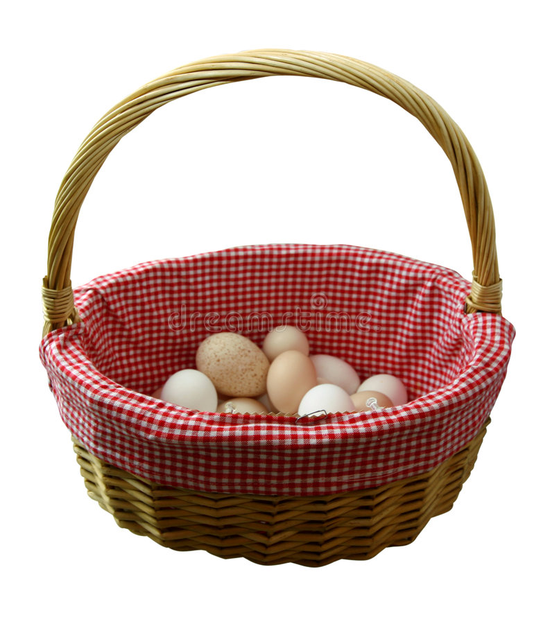 Download Dont Put All Your Eggs In One Basket Stock Image - Image: 171989