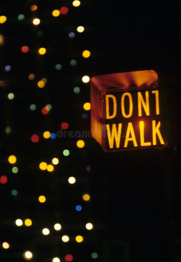 Download Dont walk stock image. Image of walk, stop, xing, signal - 4979167