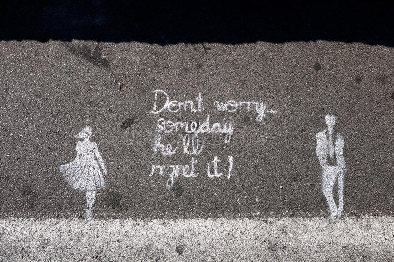 Download Dont Worry stock image. Image of worry, symbol, graffiti - 26269663