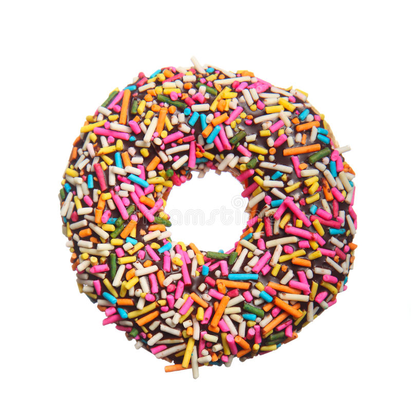 Donut royalty free stock photo
