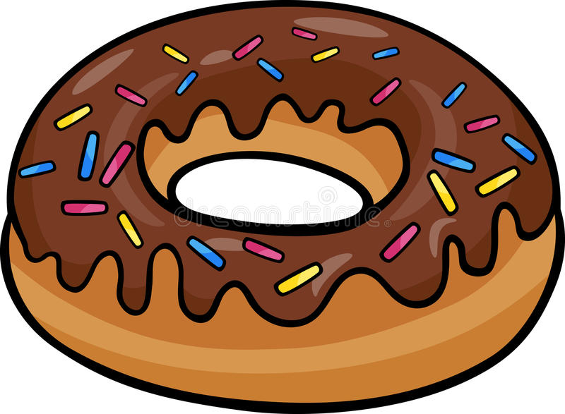 donut clip art cartoon illustration stock vector illustration of rh dreamstime com clipart donuts and coffee donut clipart images
