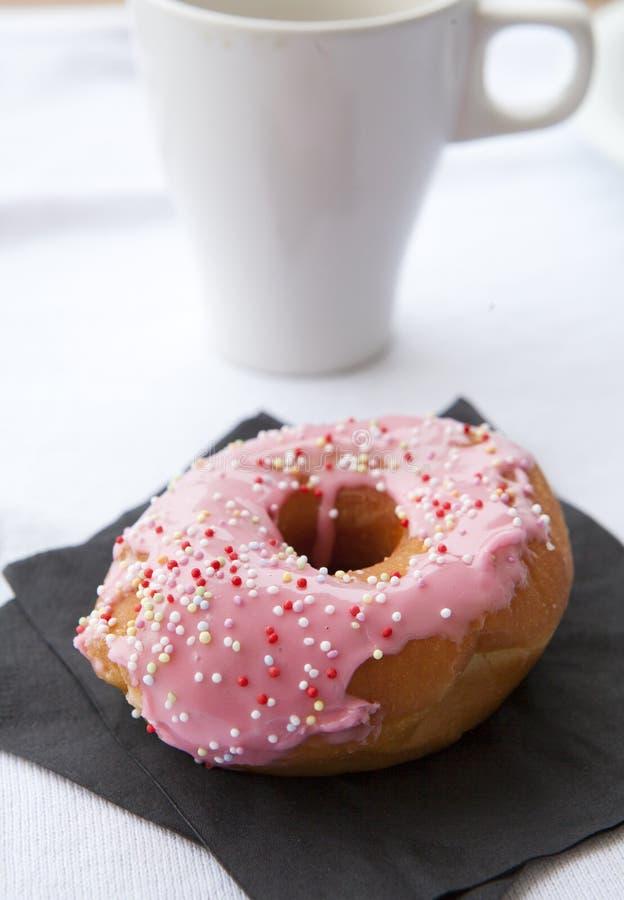 Donut e caffè fotografia stock libera da diritti
