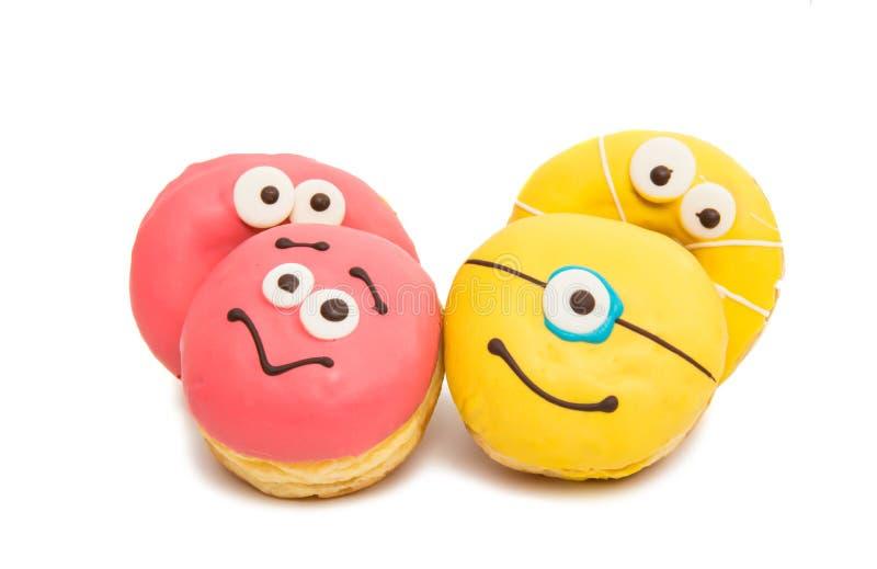 Donut in glaze royalty free stock photos