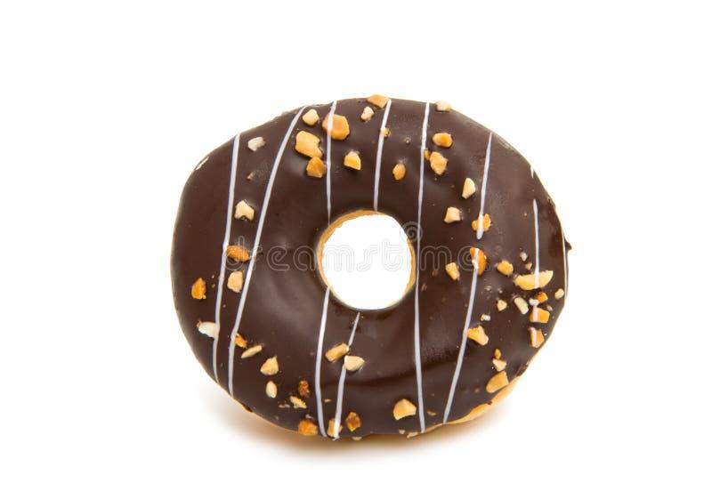 Donut in glaze stock photography