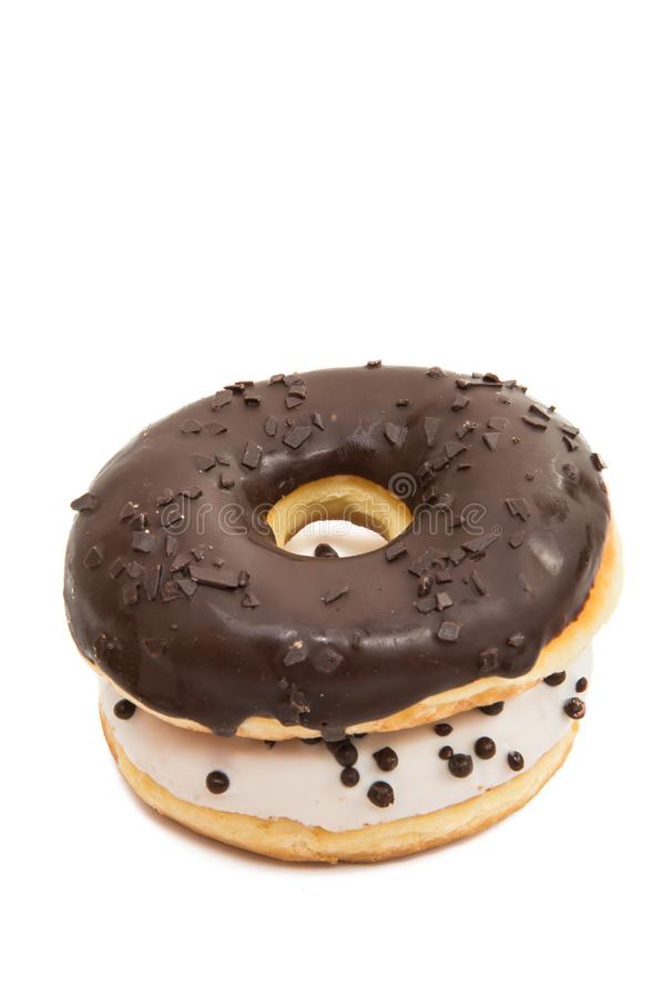 Donut glaze royalty free stock photos