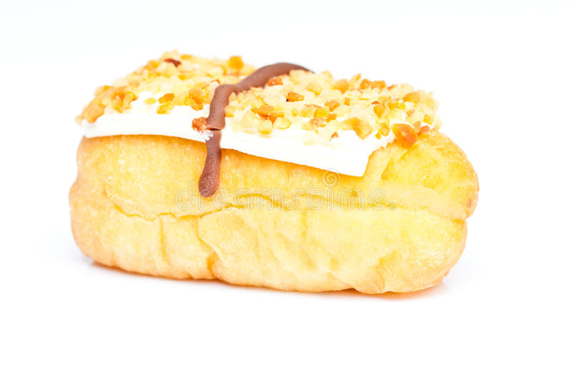 Donut On Isolate Royalty Free Stock Photography