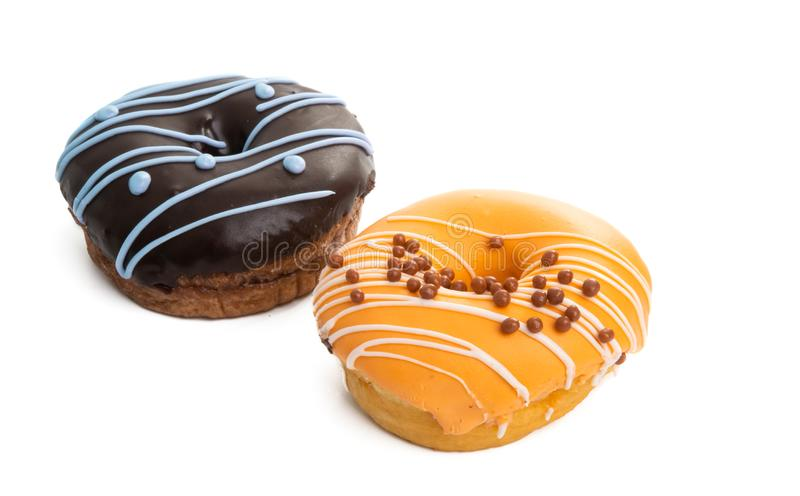 donut isolated royalty free stock photo