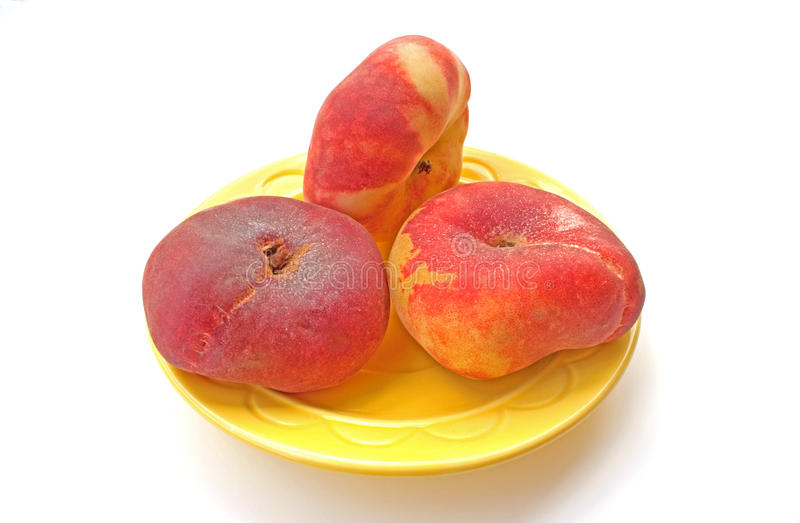 Red Haven Peaches Stock Photo Image Of Vine Sweet