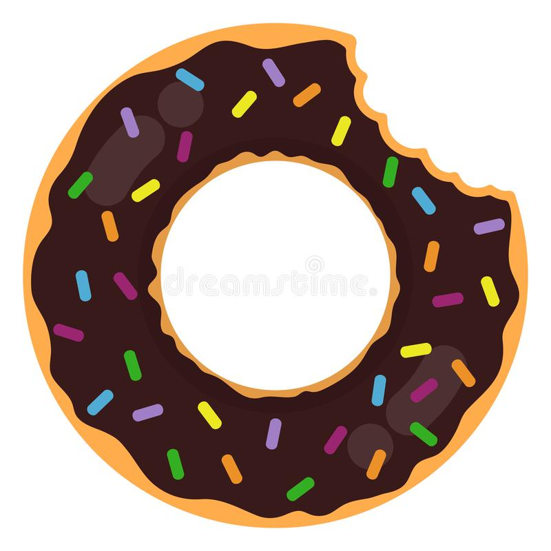 Donut Ring Float vektor abbildung