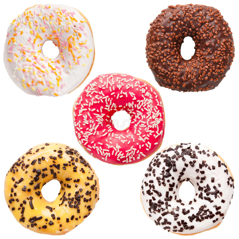 Donut variation stock photos