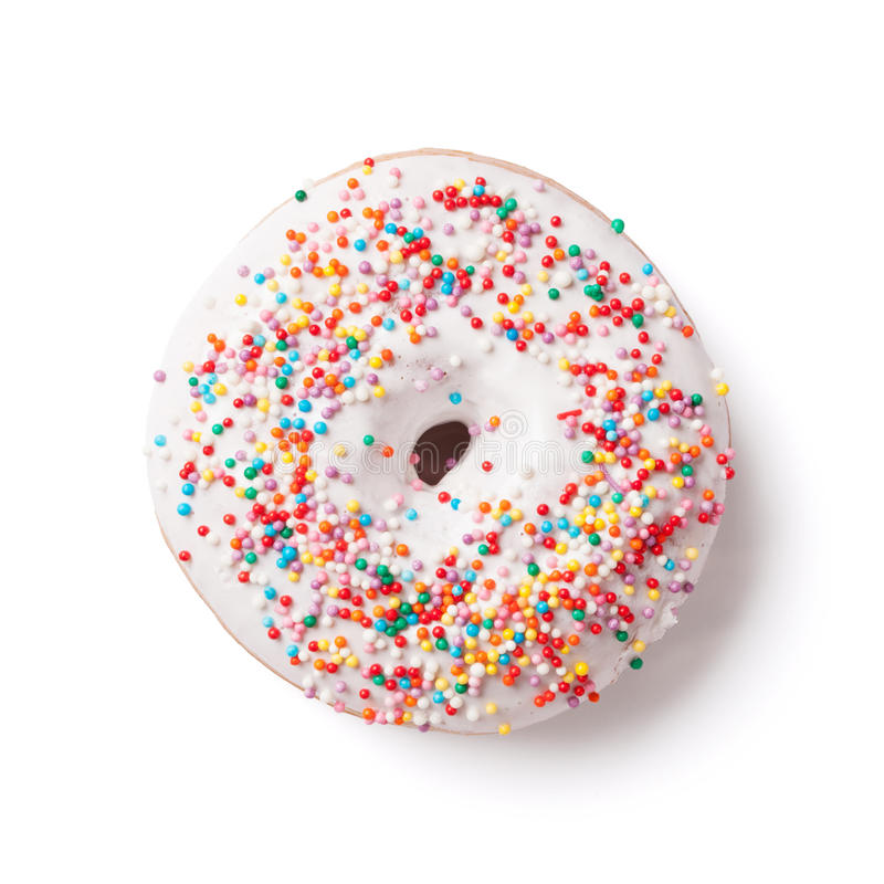 Free Donut With Colorful Decor Royalty Free Stock Photography - 67422687