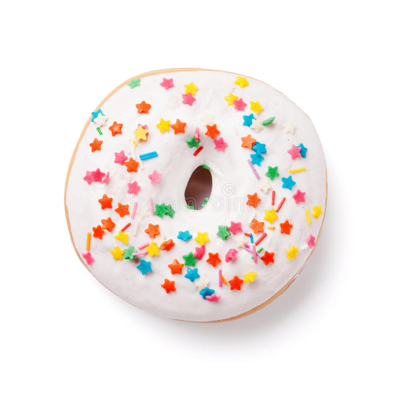 Free Donut With Colorful Decor Royalty Free Stock Photo - 67422935