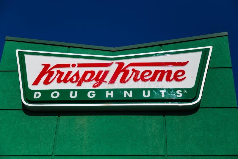 Donut-Zeichen Krispy Kreme