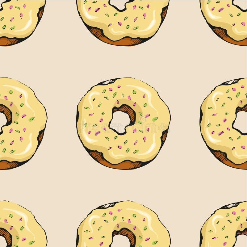 Donutmuster 15 vektor abbildung