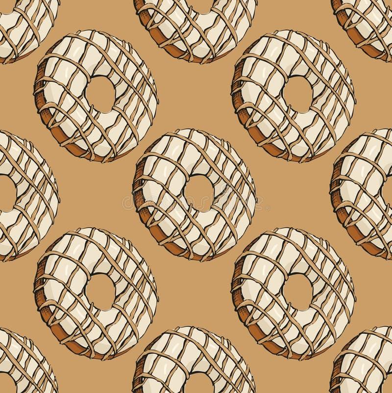 Donutmuster 20 vektor abbildung