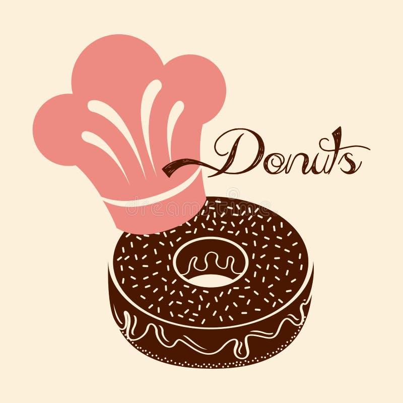 donuts γλυκό απεικόνιση αποθεμάτων
