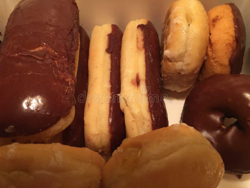 donuts πρόσφατα καμένος στοκ φωτογραφίες
