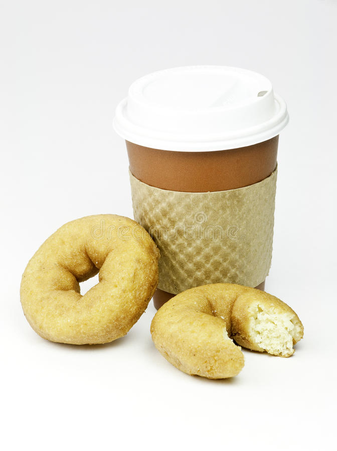 donuts кофе стоковые фото