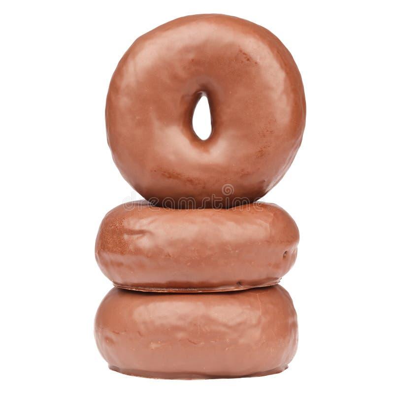 Donuts шоколада стоковая фотография rf