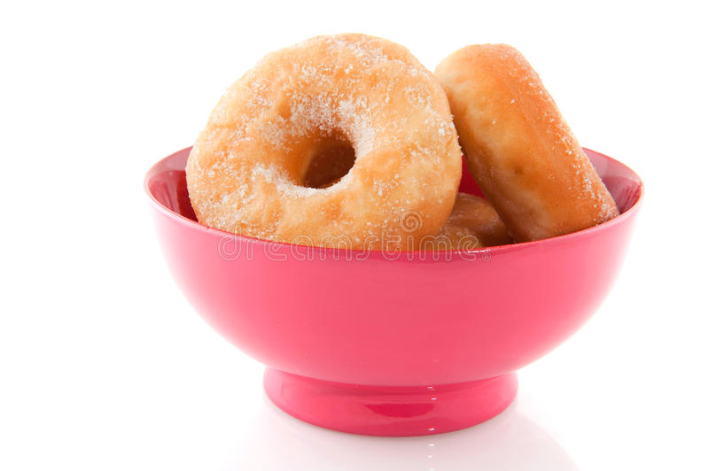 Download Donuts stock image. Image of pink, bowl, background, food - 12583463