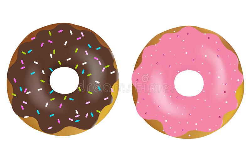 donuts ilustracja wektor