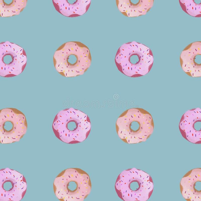 Donuts royalty-vrije stock afbeelding