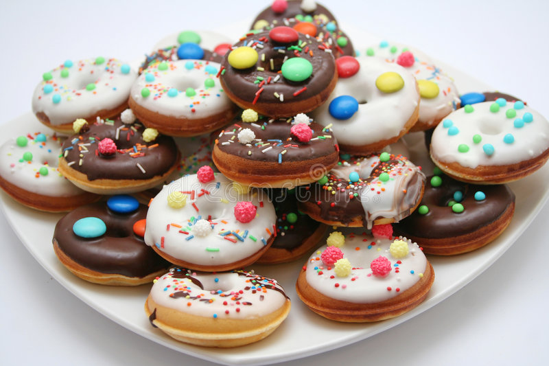 Donuts royalty-vrije stock afbeeldingen