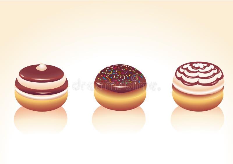 Donuts royalty ilustracja