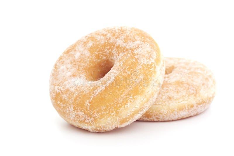 donuts biel dwa zdjęcia stock