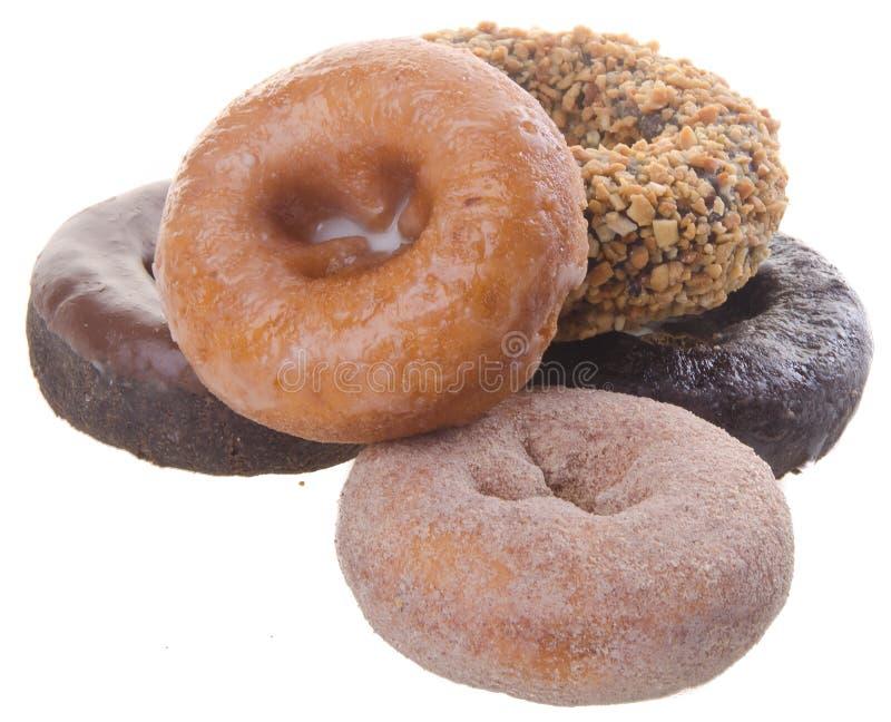 Donuts heerlijke en zoete donuts op achtergrond royalty-vrije stock fotografie