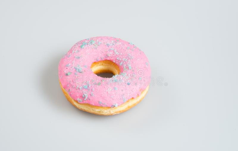 donuts of heerlijke donuts op een achtergrond royalty-vrije stock afbeeldingen