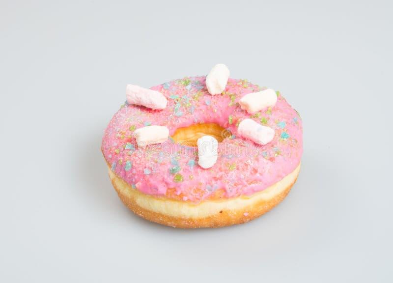 donuts of heerlijke donuts op een achtergrond stock fotografie