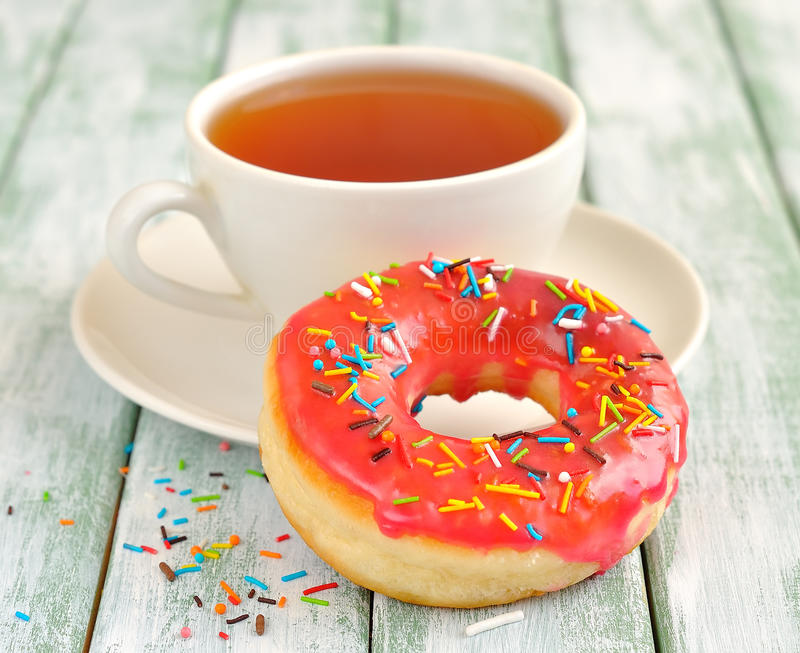 Download Donuts With Icing Royalty Free Stock Images - Image: 26264739