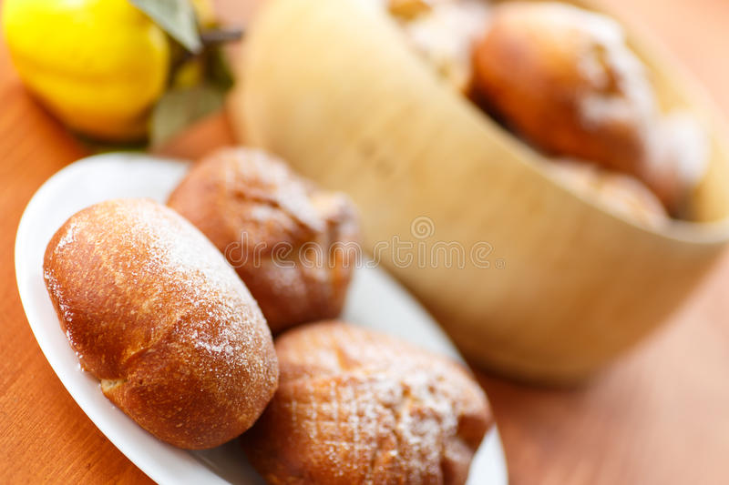 Download Donuts with quince stock photo. Image of fresh, baked - 34319326